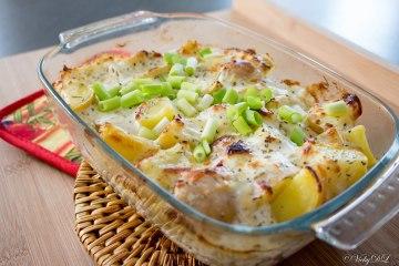 Aardappelen met Griekse yoghurt uit de oven