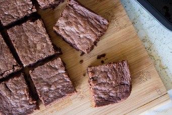 brownies van nutella