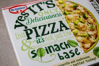 yes its pizza dr oetker spinach base