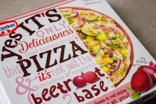 yes its pizza dr oetker beetroot base