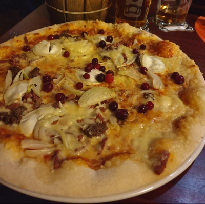 pizza met beer