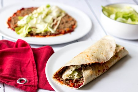 Turkse pizzawrap