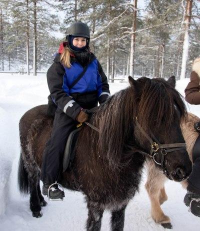 horse ride lapland
