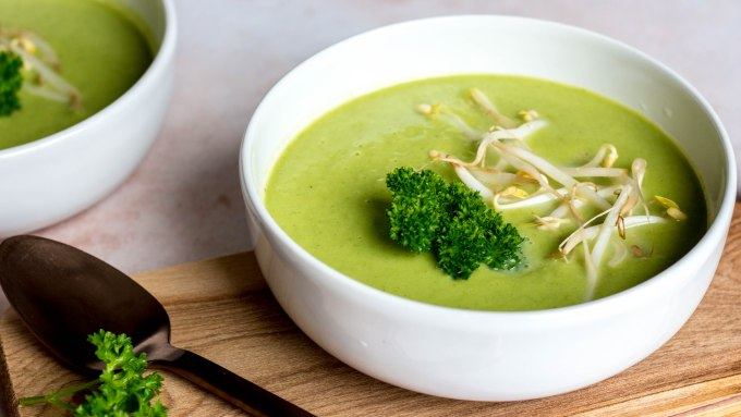 Broccoli-erwtensoep
